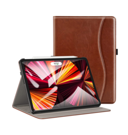 iPad Pro 11in Slim Folding Stand Folio Cover, Brown