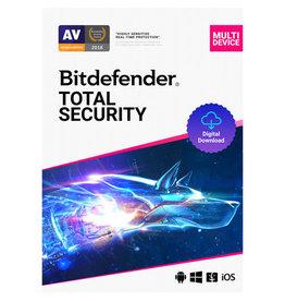 Bitdefender Total Security 5-User 3Yr BIL PC/Mac