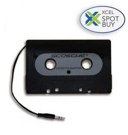 Scosche Scosche Universal Cassette Adapter with 3.5mm Input 4ft