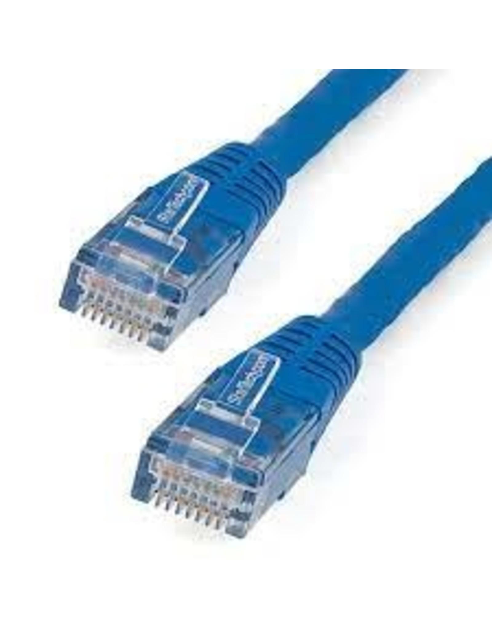 Startech 15FT CAT6 ETHERNET CABLE BLUE CAT 6 POE