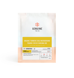 Genuine Tea Genuine Tea - Organic Turmeric Microground - 50g Loose