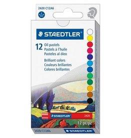 STAEDTLER PASTELS-OIL STAEDTLER, 12 COLOURS