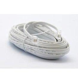 Ultralink Telephone Cord - Ultralink Home Line Cord - White - 25FT