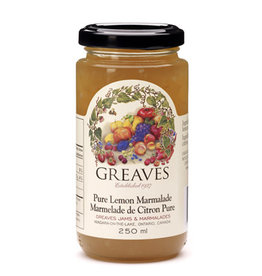 Greaves Jams & Marmalades Ltd. Greaves, Lemon Marmalade, 250ml