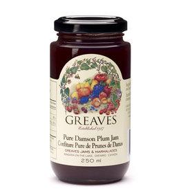 Greaves Jams & Marmalades Ltd. Greaves, Damson Plum Jam, 250ml