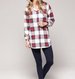Claudel CDL Plaid Stars w/ Legging PJ