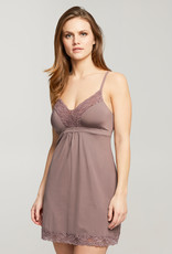 Montelle MO Lace Trim Support Chemise