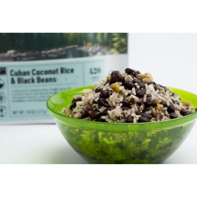 Cuban Coconut Black Beans & Rice