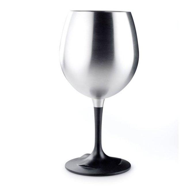 GLACIER STAINLESS NESTING WINE GLASS
