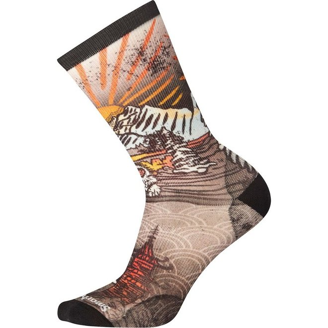Smartwool Curated Monkey Lounge Crew Sock - Unisex