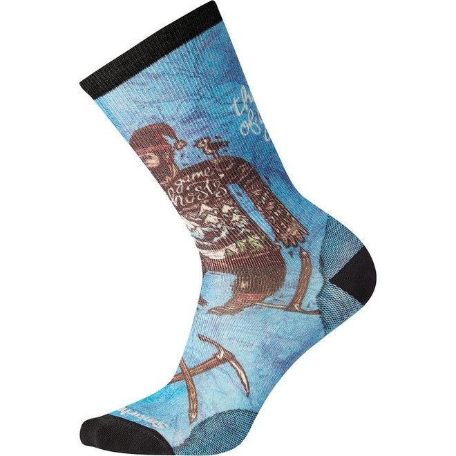 Smartwool Curated Game Of Ghosts Crew Sock - Unisex