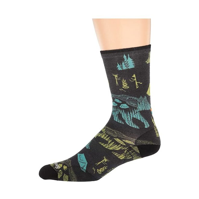 Smartwool Curated Bear Camp Crew Socks - Unisex