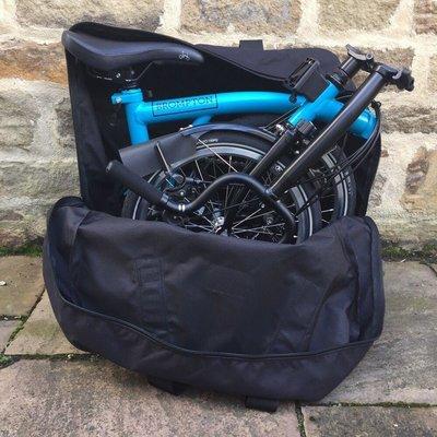 Brompton Carradice Brompton Folding Bike Case (Backpack Harness)