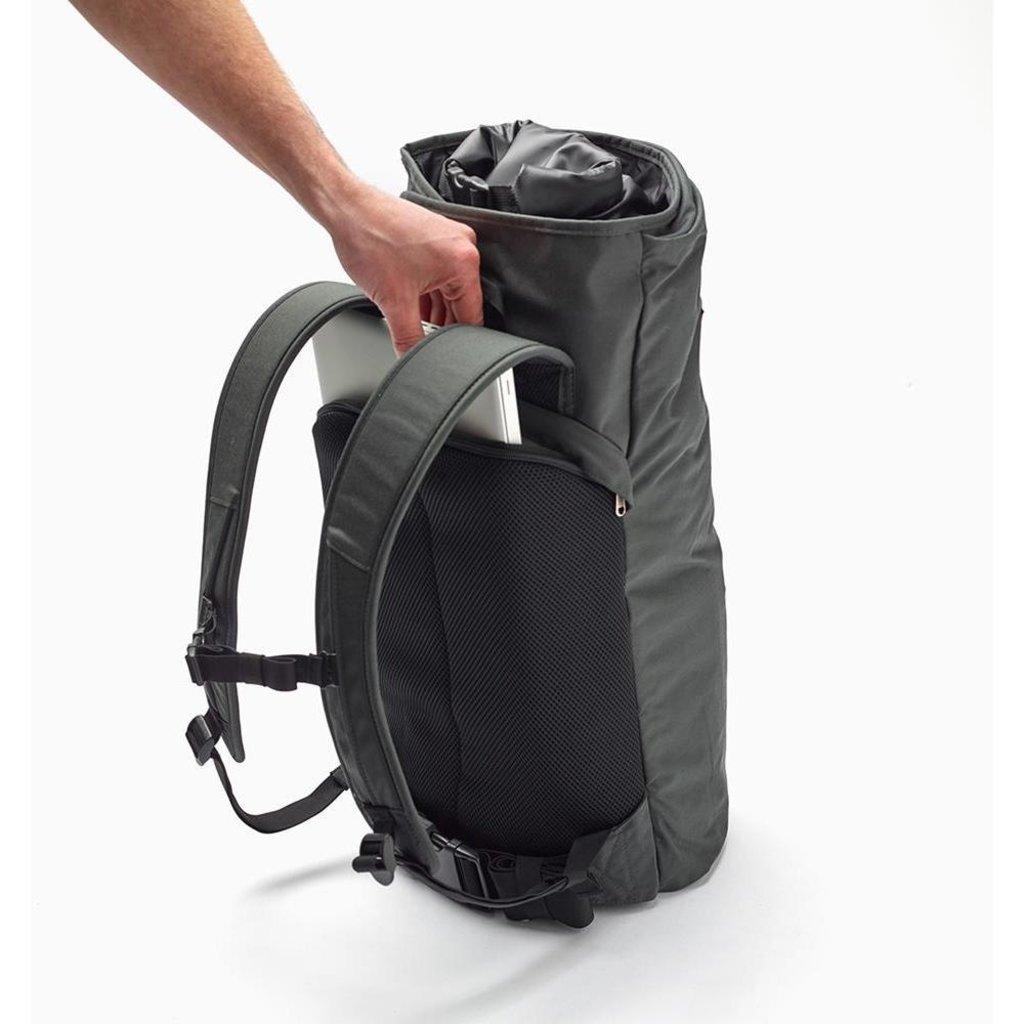 "Henty Wingman 15"" Laptop Garment Backpack Standard - Grey"