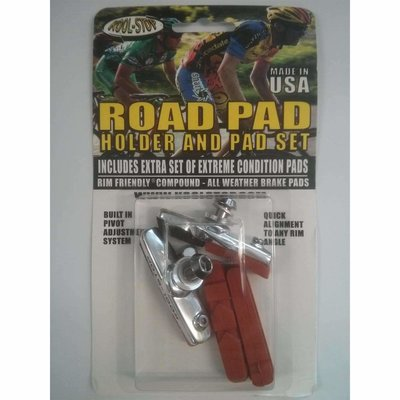 Kool Stop Road Holders Dura Ace + Spare Pads (Dual Compound)