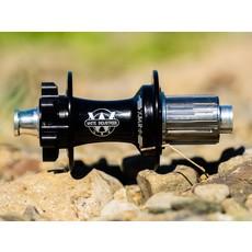 White Industries Rear Hub XMR 32H 12x142mm Thru Axle Titanium SRAM XD Black