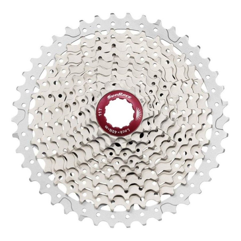 SunRace 10 speed Cassette Champange