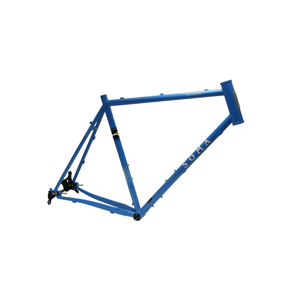 Soma Wolverine 4.0 Type A Frame (Thru Axle, Blue)