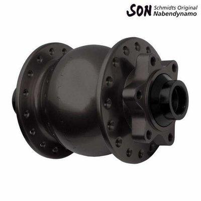 Schmidt SON 28 15 110 Boost 6-Bolt Disc Dynamo Hub