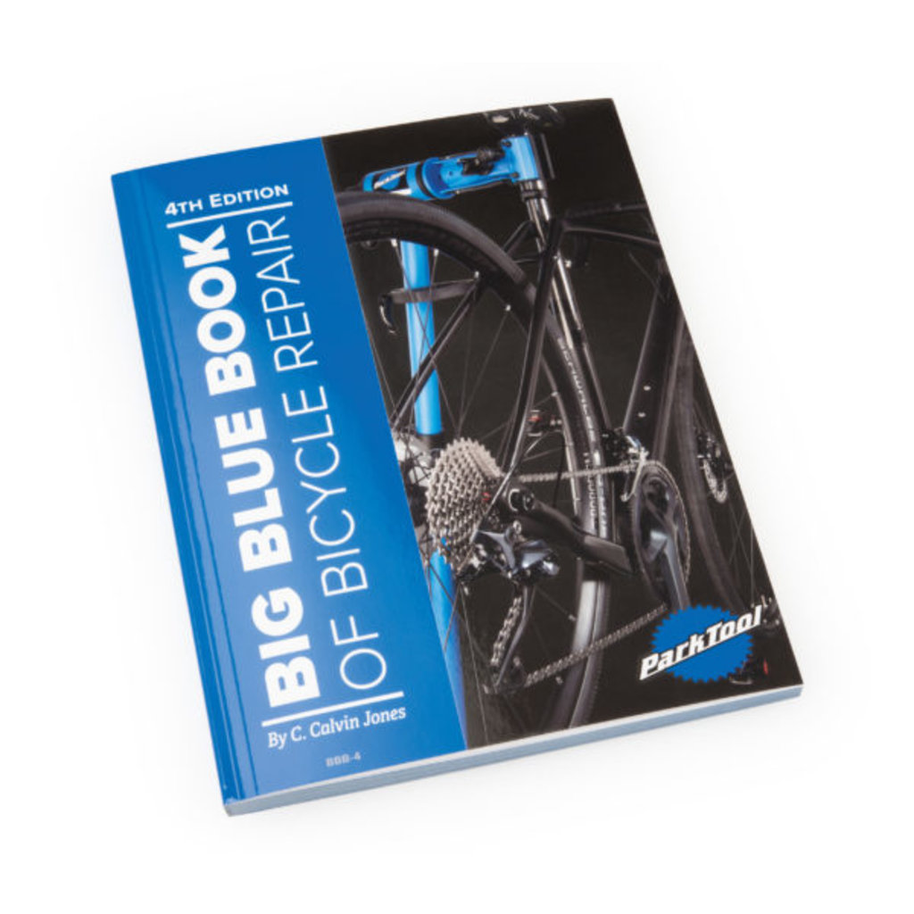 Park Tool Park Tool Big Blue Book of Bicycle Repair (BBB-3)