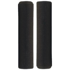 Azur Silicone Black Grips