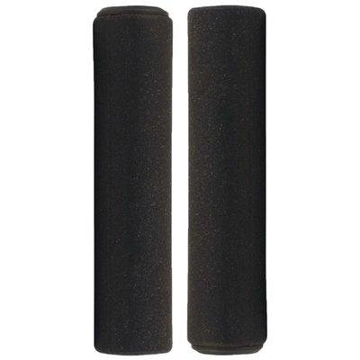 Azur Silicone Black Grips