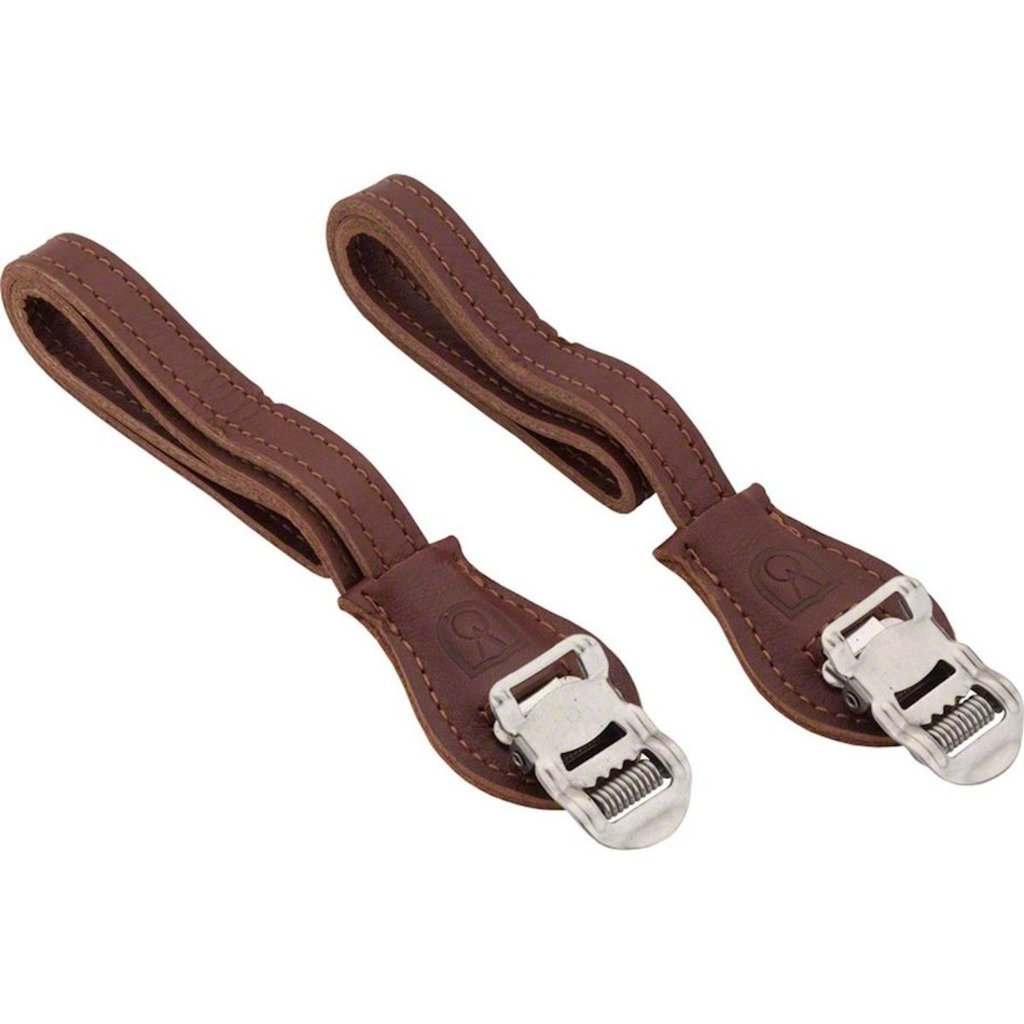 Velo Orange Velo Orange Grand Cru Laminated Leather Toe Straps