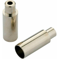 Jagwire Chrome Plated Housing Cap 5mm to 4mm (Step-Down Ferrule) Each