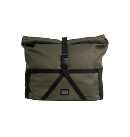 Brompton Brompton Borough Roll Top Bag Medium in Olive