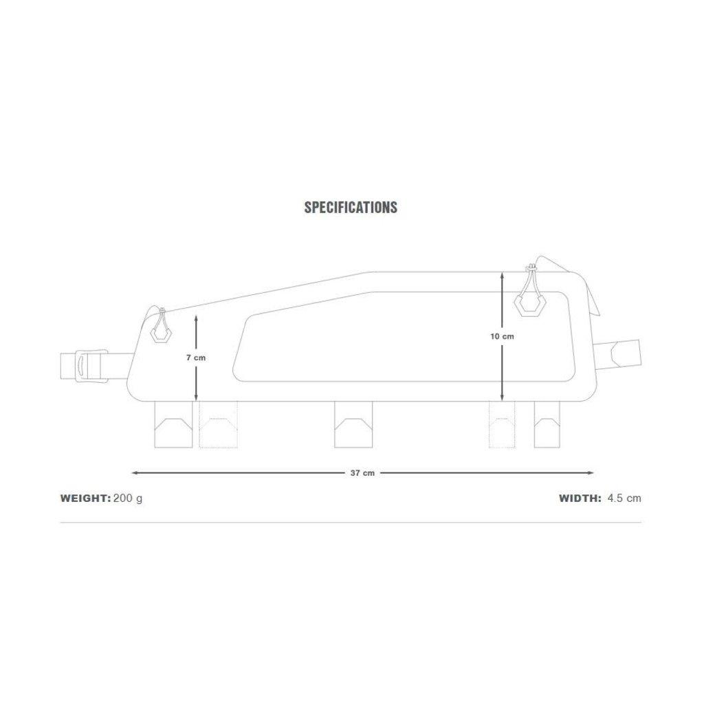 Apidura Apidura Backcountry Long Top Tube Pack 1.8L
