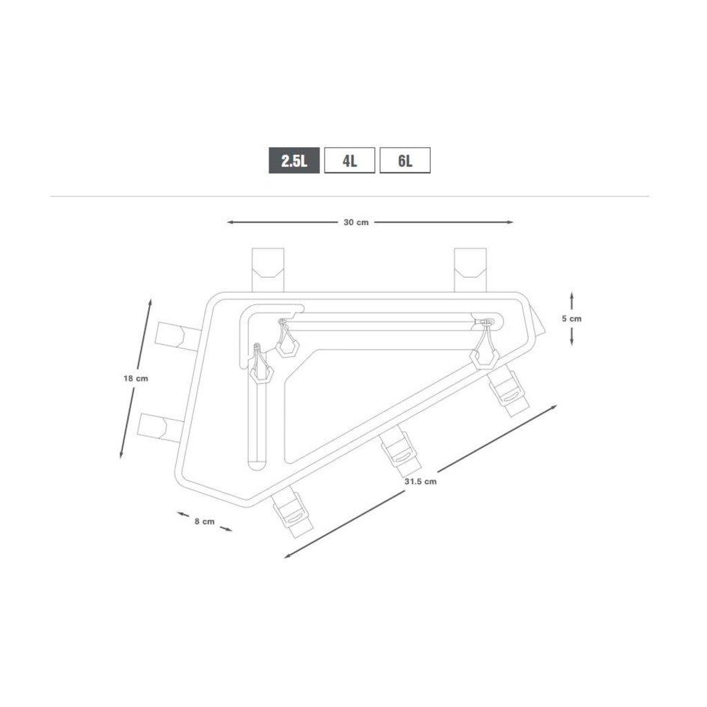Apidura Apidura Backcountry Full Frame Pack