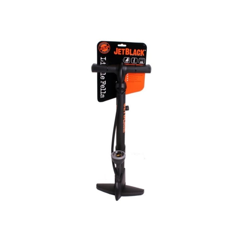 Jetblack Little Fella Floor Pump