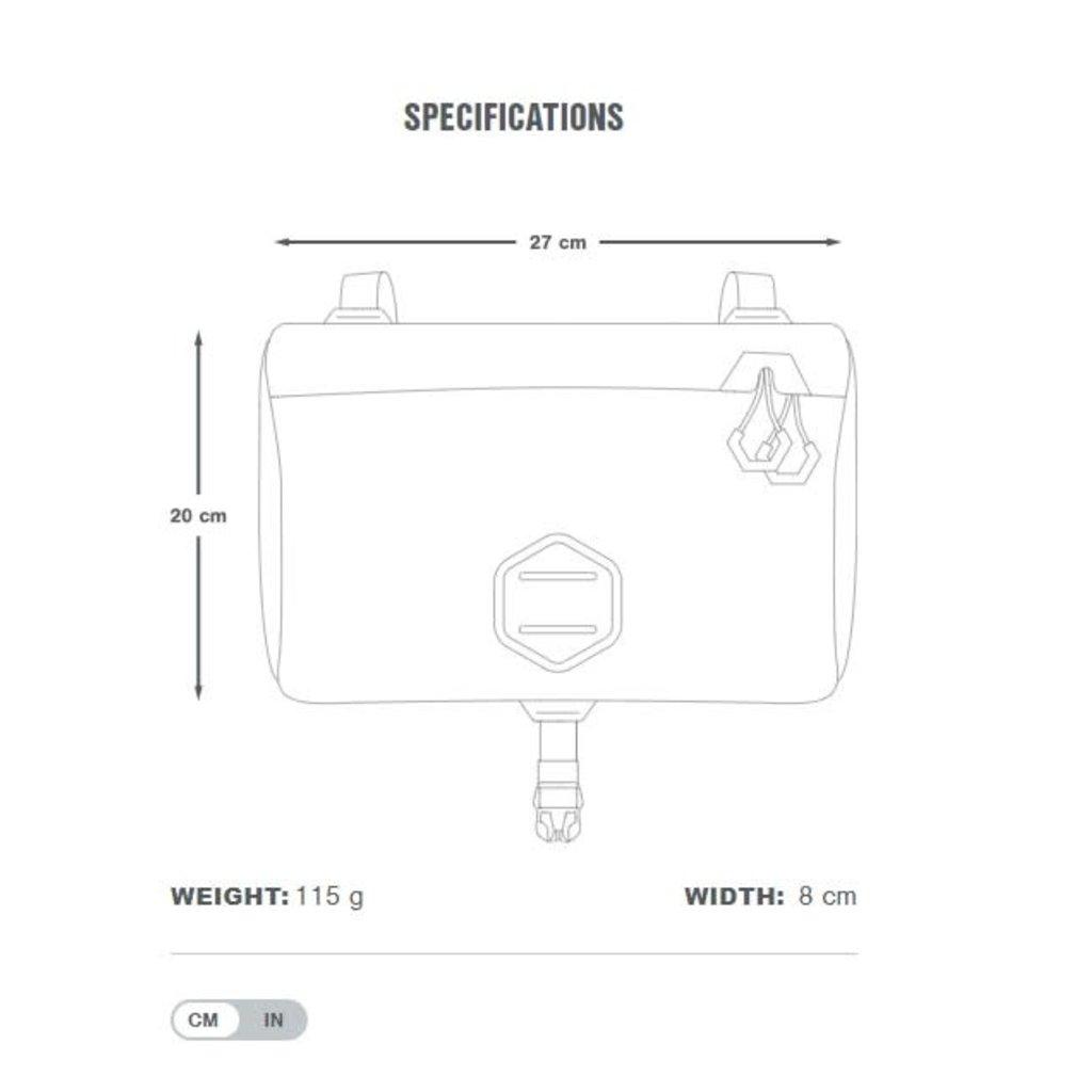 Apidura Apidura Backcountry Accessory Pocket 4.5L