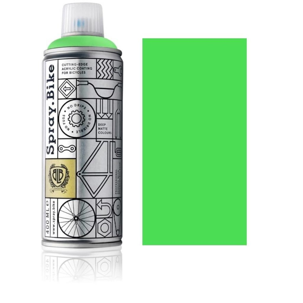Spray.Bike Paint Can (Fluro Collection 400ml)