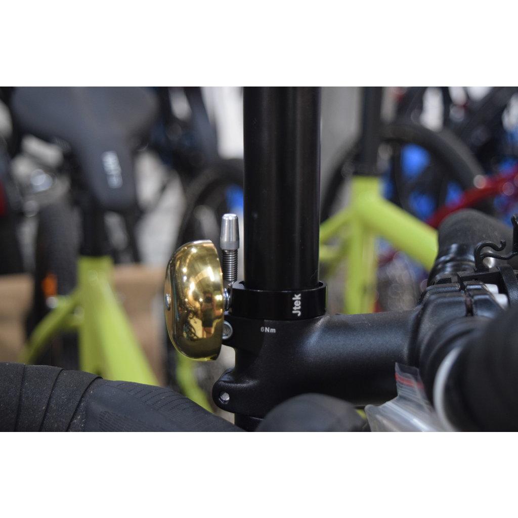 Jtek Brass Ping Bell Steerer Tube Mount