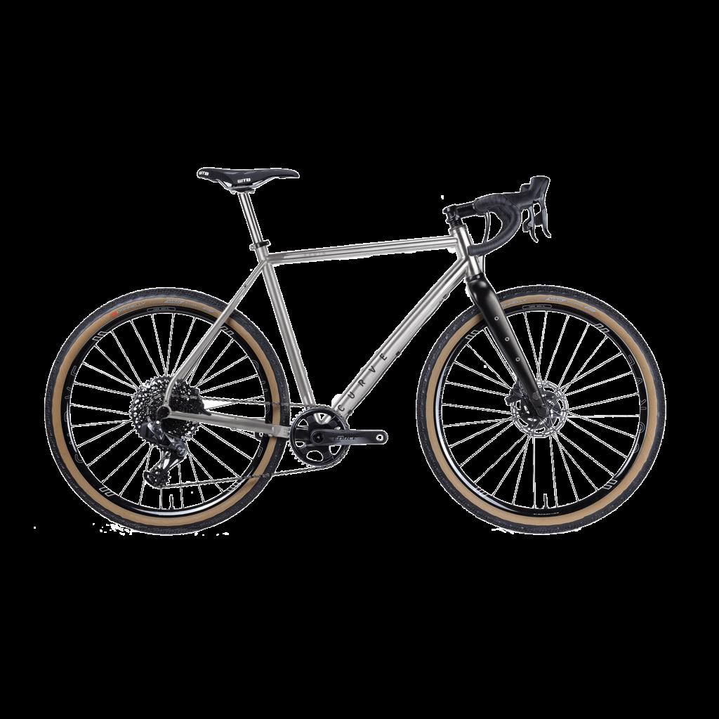 Curve Cycling Curve GXR Titanium Custom Build