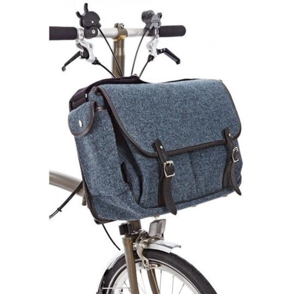 Brompton Brompton Game Bag Storm Grey Tweed
