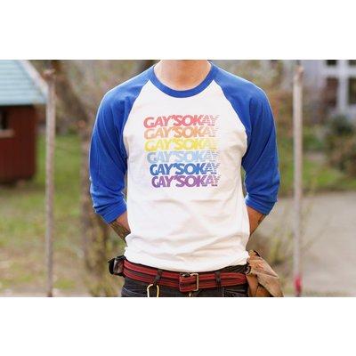 Gay's Okay 3/4 Length Shirt