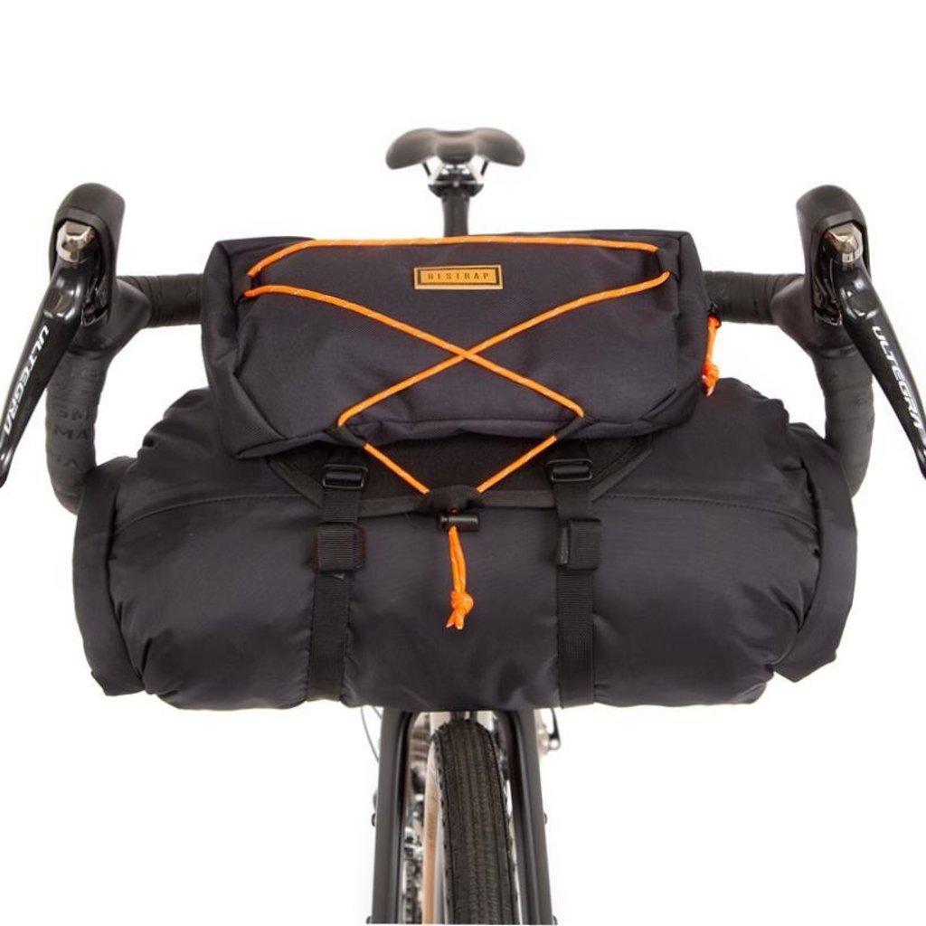 Restrap Restrap Bikepacking Barbag 14 Litres + Food Pouch + Dry Bag Black/Black