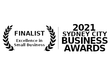 We're finalists in the 2021 Sydney City Business Awards