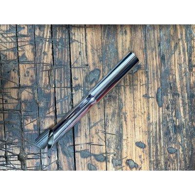Quill Stem Riser Silver 25.4-22.2mm 210mm (converter)