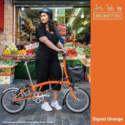 Brompton Brompton 2021 M6L Orange