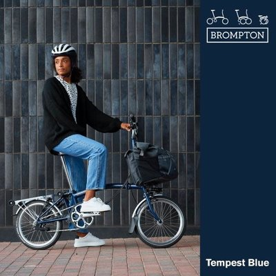 Brompton Brompton 2021 M6L Tempest Blue