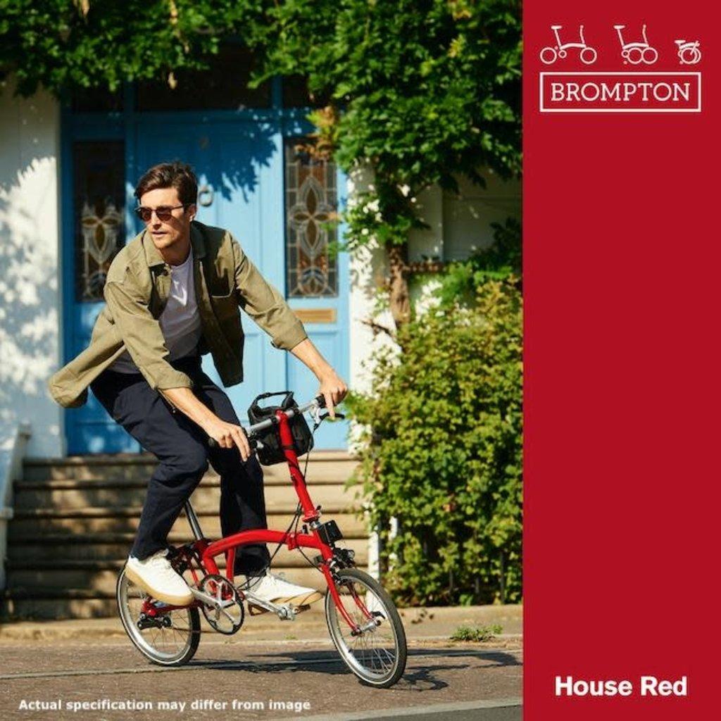 Brompton Brompton 2021 S6L  House Red