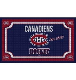 Team Sports America NHL Embossed Doormat Canadiens