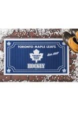 Team Sports America NHL Embossed Doormat Maple Leafs