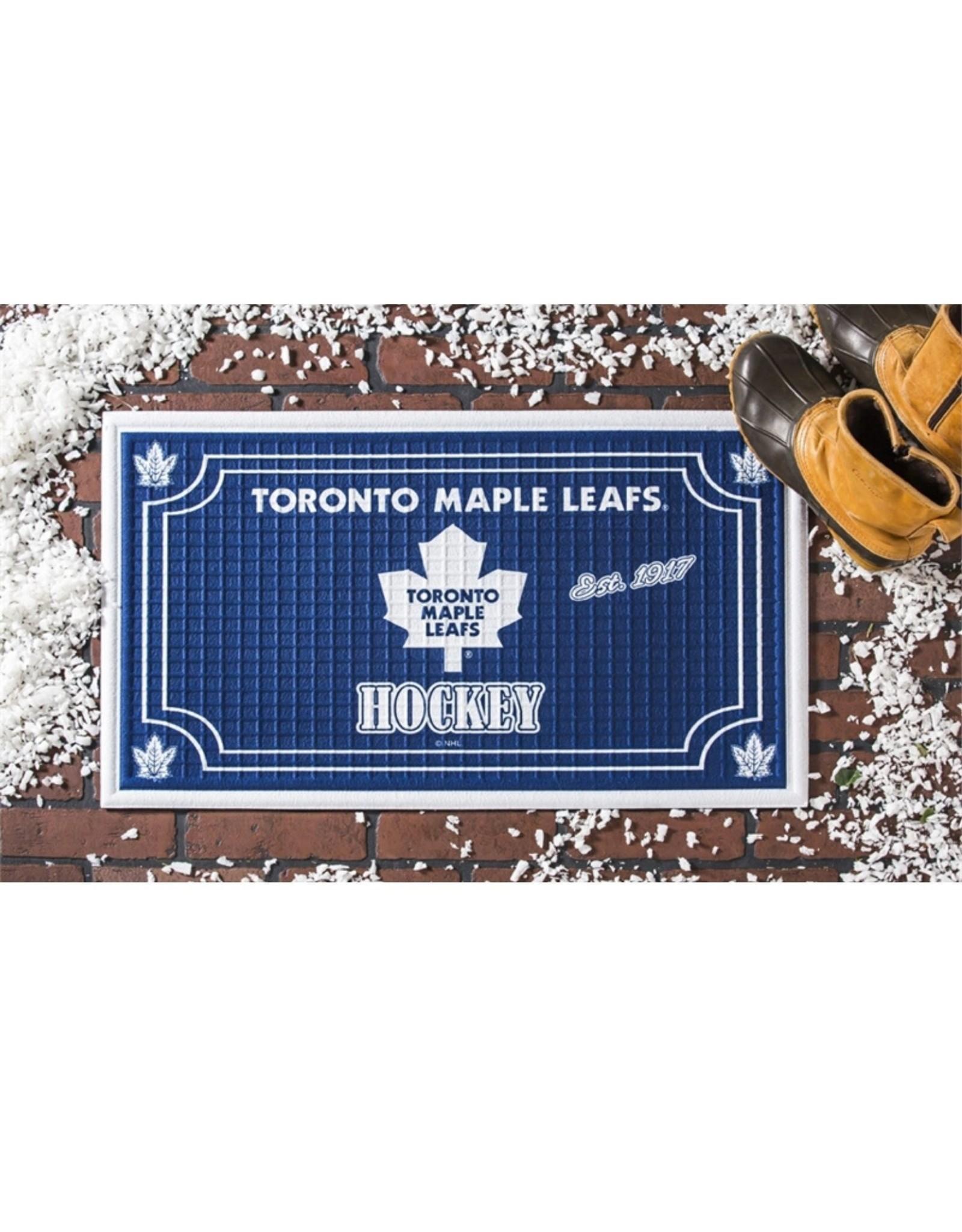 Team Sports Ameica NHL Embossed Doormat Maple Leafs