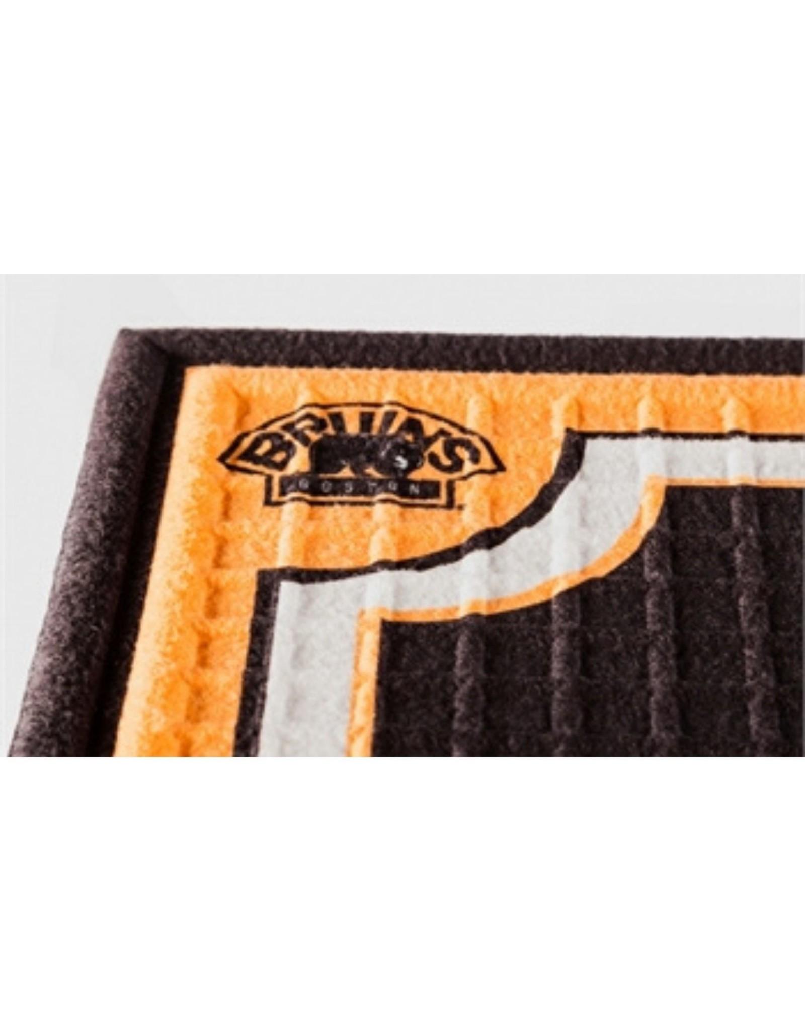 Team Sports America NHL Embossed Doormat Bruins