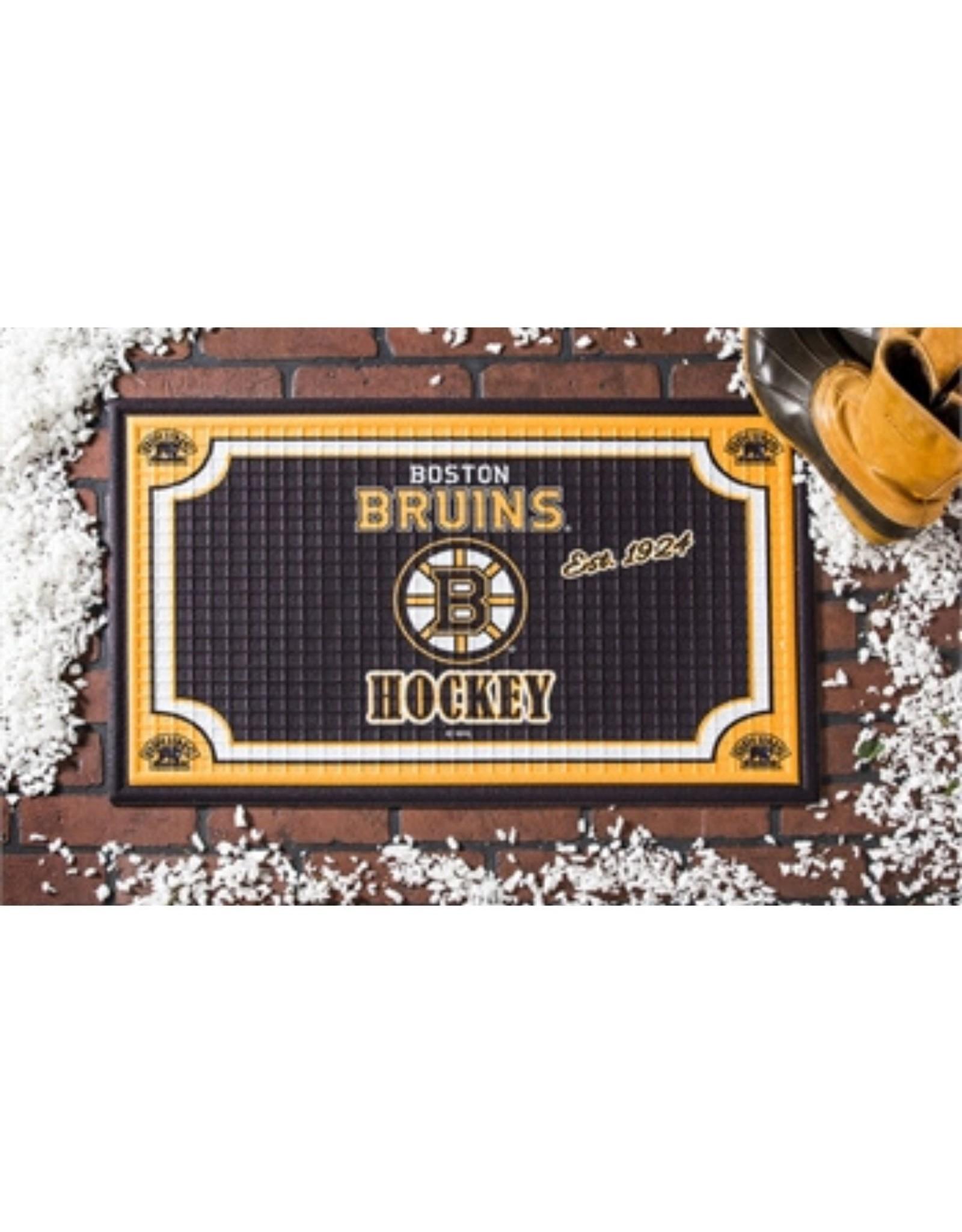 Team Sports Ameica NHL Embossed Doormat Bruins