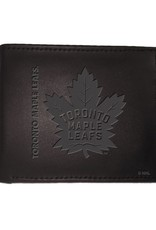 Team Sports Ameica NHL Bi-Fold Leather Embossed Wallet Maple Leafs